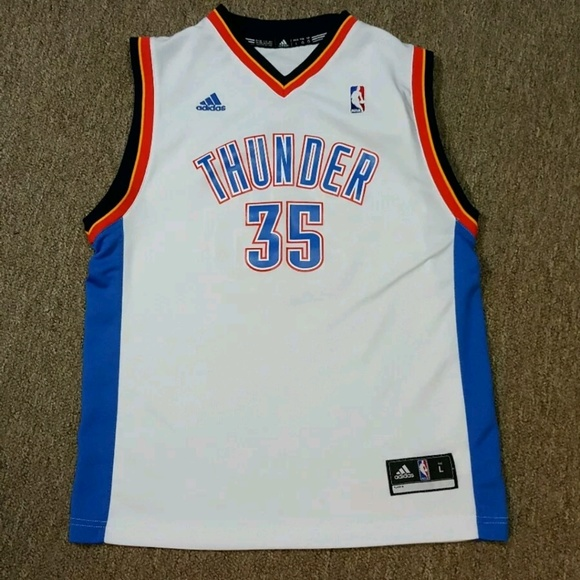 c373a3ed7d10 adidas Other - Adidas Kevin Durant OKC Basketball Jersey  35